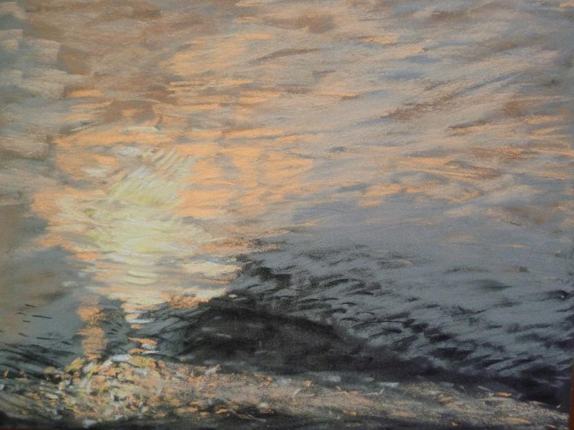 15_Miroitement de l'eau au crépuscule